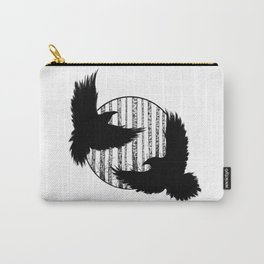 Black Birds I Carry-All Pouch