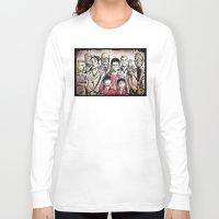 royal tenenbaums Long Sleeve T-shirts featuring The Royal Tenenbaums by Joe Badon