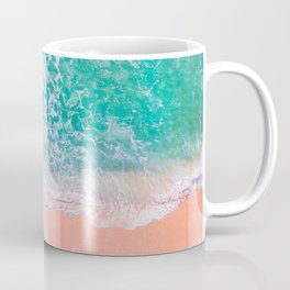 Pink Sands Turquoise Water Caribbean Dream Coffee Mug