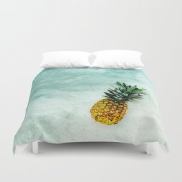 Alone in the Light Duvet Cover