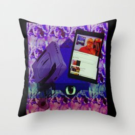 MINDD COLOR Throw Pillow