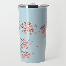 Blossom Bird  Travel Mug