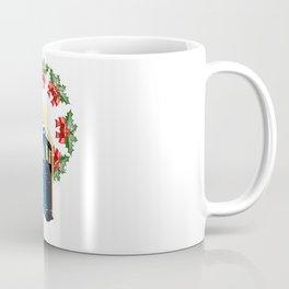 A WARM AND CONFORTABLE TARDIS I N THE SNOWSTORM Coffee Mug