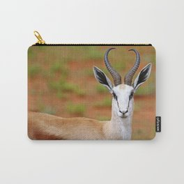 Springbok in Namibia, wildlife Carry-All Pouch