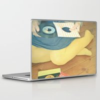 vinyl Laptop & iPad Skins featuring Vinyl by Cassia Beck