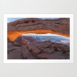 Mesa Arch - Canyonlands National Park Art Print