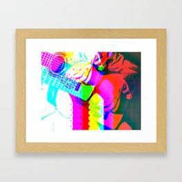 Guitar by Billy Bernie Framed Art Print