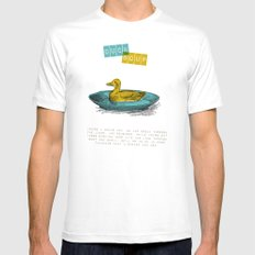Duck Soup Mens Fitted Tee White MEDIUM