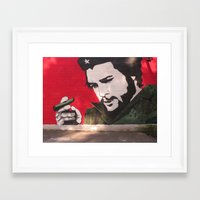 che Framed Art Prints featuring Che by Robin J. James
