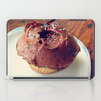 cupcake iPad Cases featuring Cupcake by Inky Bits Designs