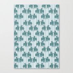 Bunny mad! Canvas Print