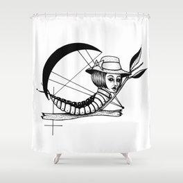 Bad Karma Shower Curtain
