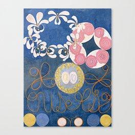The Ten Largest No. 01 Childhood Group IV Hilma Af Klint Canvas Print