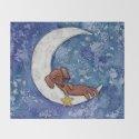 Dachshund on the Moon by pavlotereshin