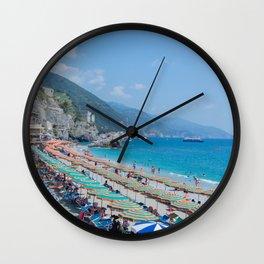 Monterosso al Mare Wall Clock
