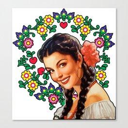MEXICANA 5 Canvas Print