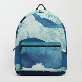 Blue Desert Backpack