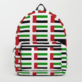 flag of UAE -united arab Emirates,Abu dhabi, dubai,emirati,الإمارات Backpack