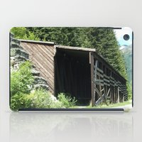 john snow iPad Cases featuring Snow Shed by NoelleB