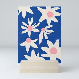 Blue Garden Mini Art Print