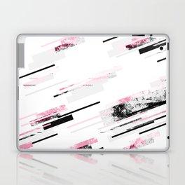 love stripes / black & pink Laptop & iPad Skin