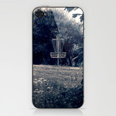 Frisbee Disc Golf Basket iPhone & iPod Skin