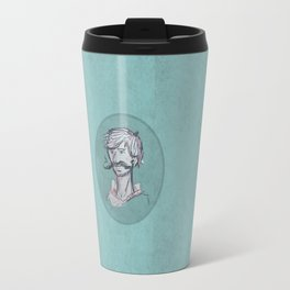 Mustache Man Travel Mug