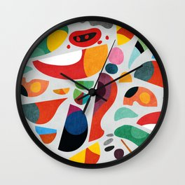 Still life from god's kitchen Wall Clock