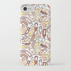 Adorable Otter Swirl iPhone 7 Slim Case