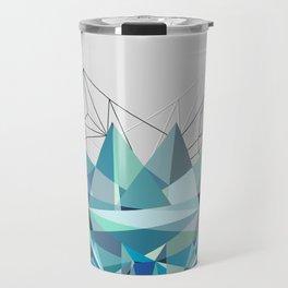Colorflash 3 Turquoise Travel Mug