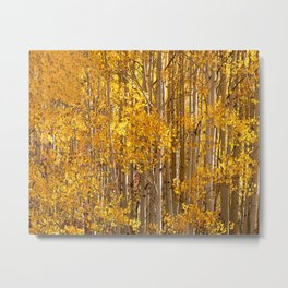 Season Of Gold 2d Panel Split Triptych Metal Print
