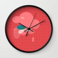 monster Wall Clocks featuring Monster by Latidra Washington