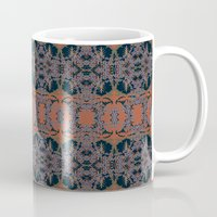 palm Mugs featuring Palm by Ceil Diskin Studio