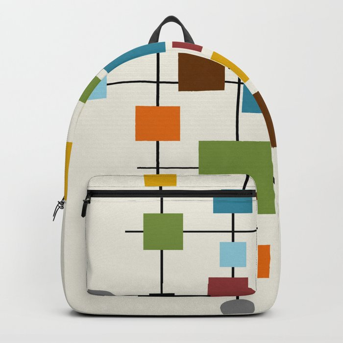 Mid-Century Modern Art 1.3 Rucksack