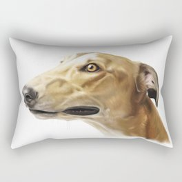 GREYHOUND ART Rectangular Pillow