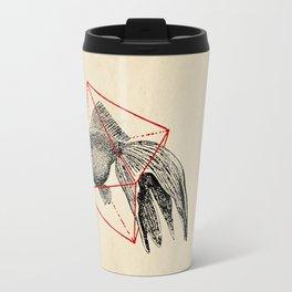 Fish In Geometrics III Travel Mug