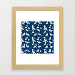 Happy Birds Framed Art Print