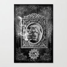 King Smokey black and white Canvas Print