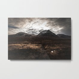 Drive From Loch Ness Metal Print