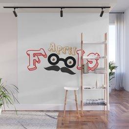 april fools Wall Mural