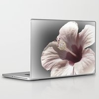 hibiscus Laptop & iPad Skins featuring Hibiscus by Lynn Bolt