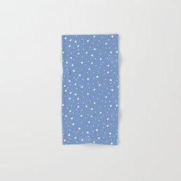 Doodle Stars on Cornflower Hand & Bath Towel