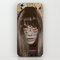 jane eyre iPhone & iPod Skins featuring JANE by Kris Tate