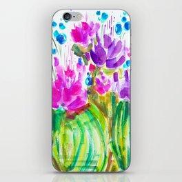 Flowerista Cactus iPhone Skin