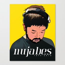 Nujabes Canvas Print