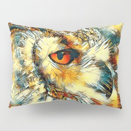 AnimalArt_Owl_20170917_by_JAMColorsSpecial Pillow Sham
