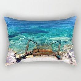 deep blue sea photography Rectangular Pillow