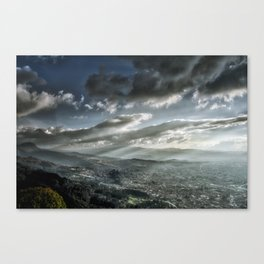 Bogotá in Shadows Canvas Print