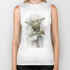 Yoda Biker Tank