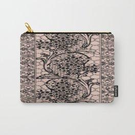 Vintage Lace Pale Dogwood Carry-All Pouch
